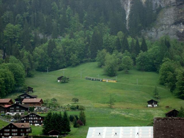 trem Lauterbrunnen - Wengen