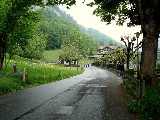 Lauterbrunnen - estradas