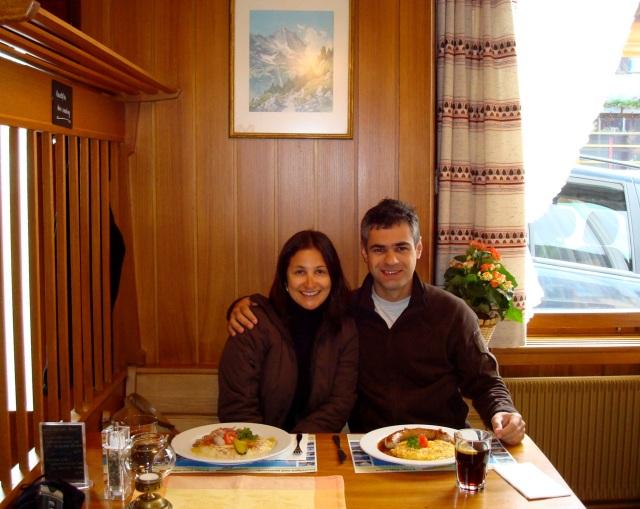 Lauterbrunnen - restaurante Steinbock