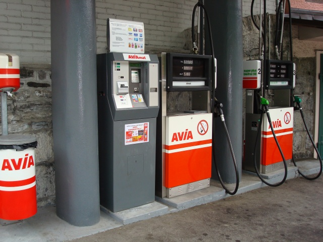 Lauterbrunnen - posto de gasolina