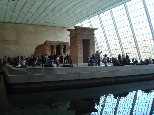 Galeria de Arte Egípcia - Sackler Wing - Templo de Dendur