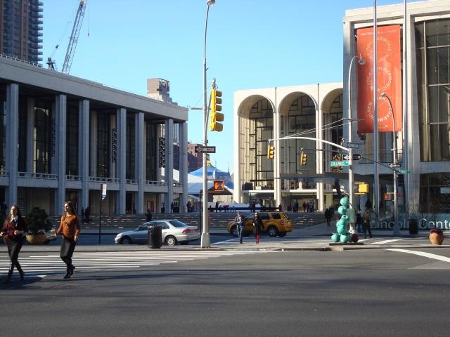 Lincoln Center - cenário de Cisne Negro!
