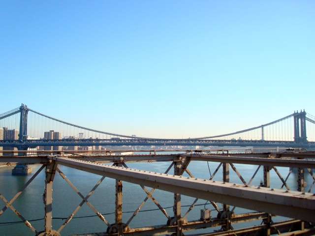 Vista de Manhattan Bridge