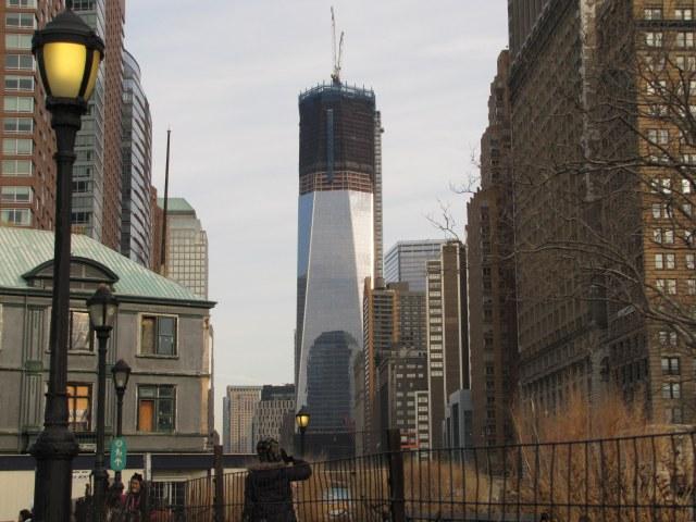 One World Trade Center - ainda em acabamento