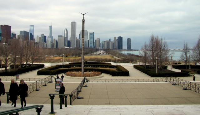 Downtown, Grant Park e Lago Michigan