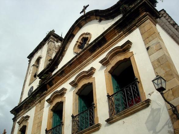 Em estilo barroco, era destinada à população mulata da cidade