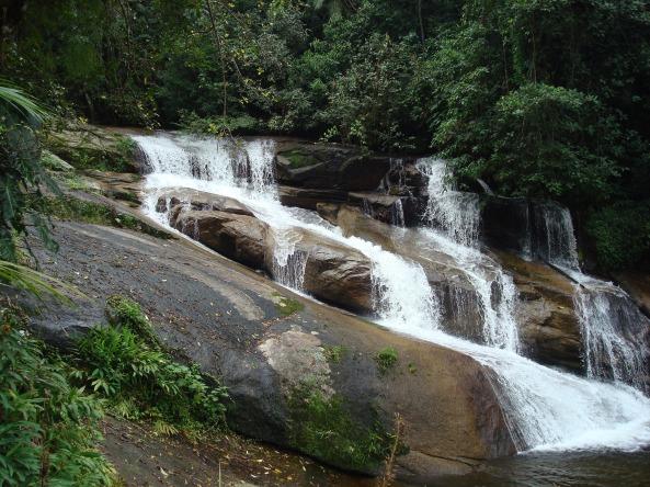 Cachoeira da Pedra Branca - parte inferior