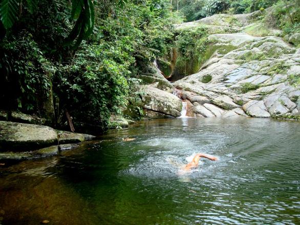 Cachoeira da Pedra Branca - nível superior