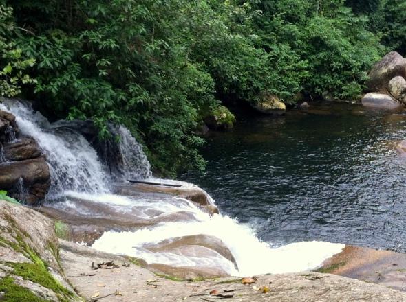 Cachoeira da Pedra Branca - nível intermediário