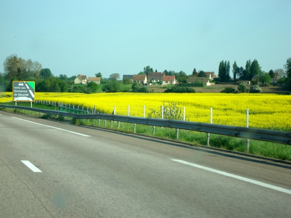 Na estrada, rumo à Normandia