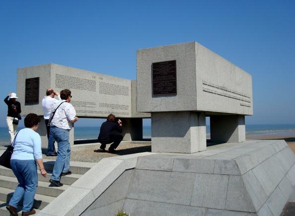 Memorial em Omaha-Beach