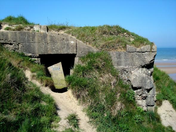 Antigo bunker alemão