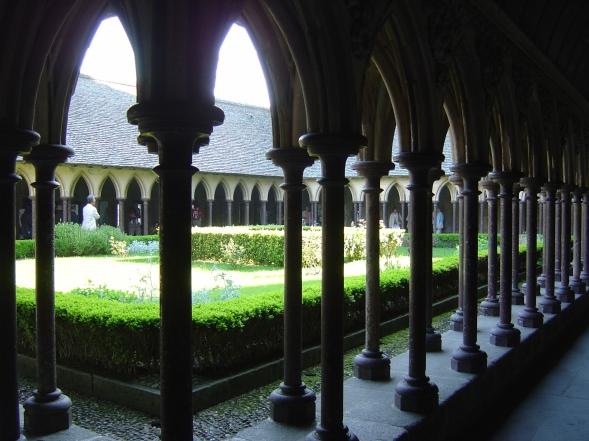 Os jardins da abadia