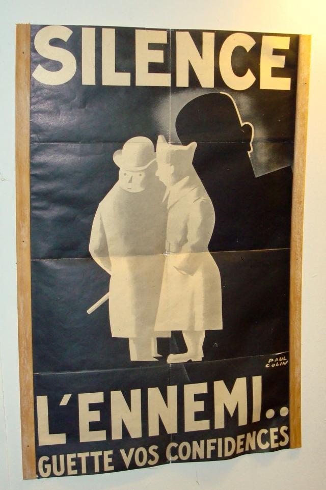 A neurose da guerra retratada num poster vintage