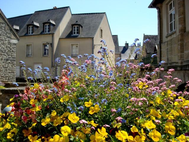 Flores complementam a arquitetura