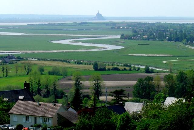 Mont-St-Michel visto de Avranches