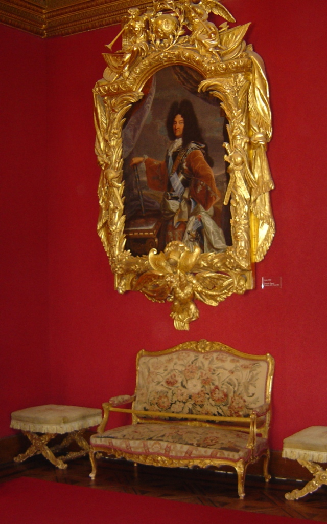 A Sala de Estar de Luís XIV