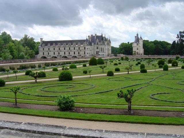 O Jardim de Diane de Poitiers, em estilo italiano