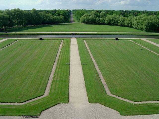Os jardins de Chambord