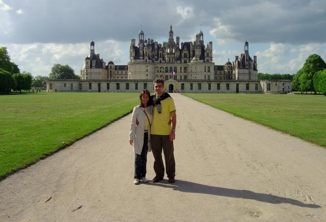 Château de Chambord - inspiração para o filme A Bela e a Fera