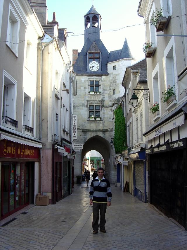 Ruelas adoráveis de Amboise