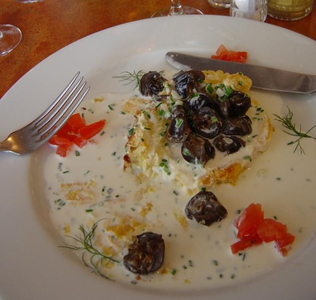 Delícias de brasserie: nosso primeiro escargot na França!