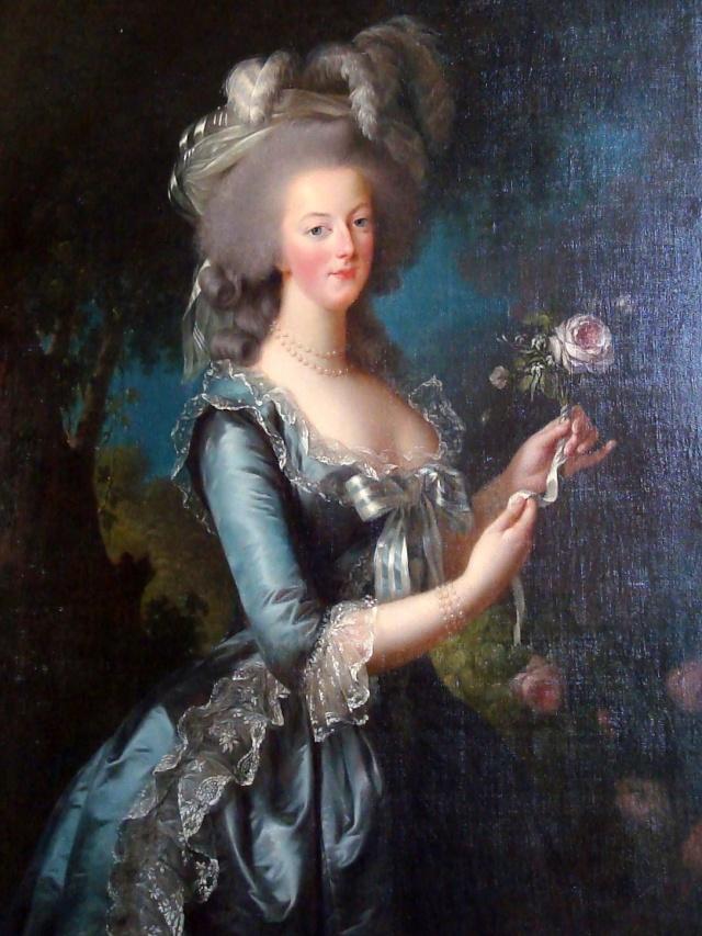Quadro de Maria Antonieta, exposto no Petit Trianon