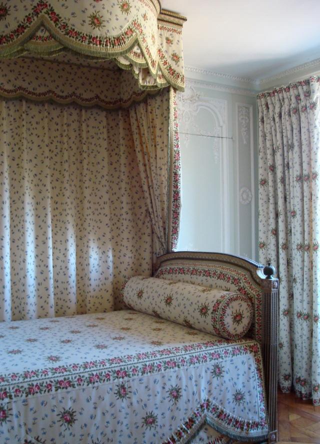 O quarto de Maria Antonieta no Petit Trianon