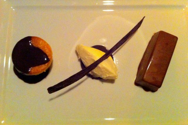 Trio de Chocolate - uma pequena obra de arte