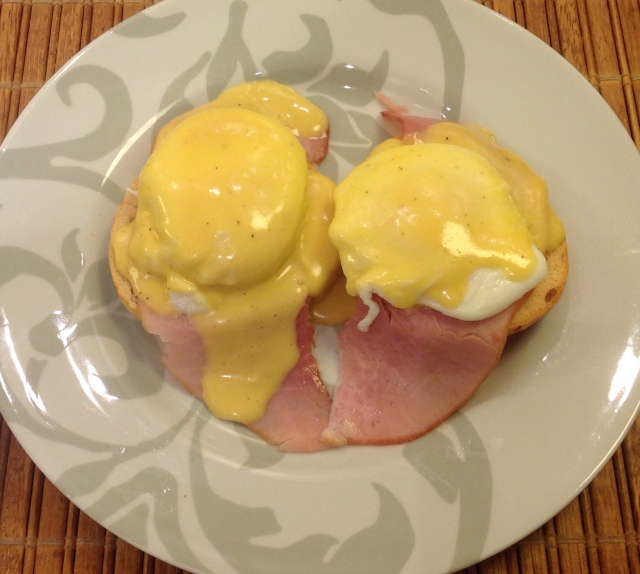 Eggs Benedict made by us