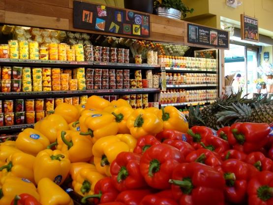Whole Foods - frutas e legumes