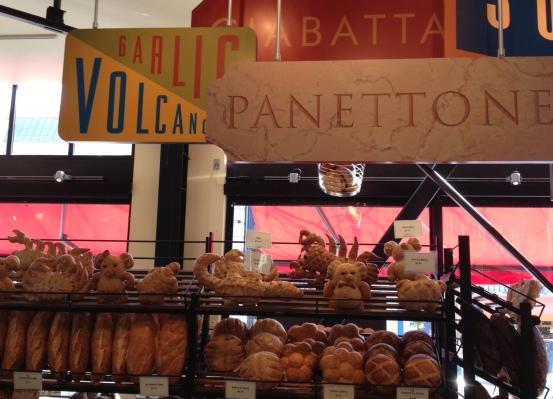 Boudin Bakery - pães