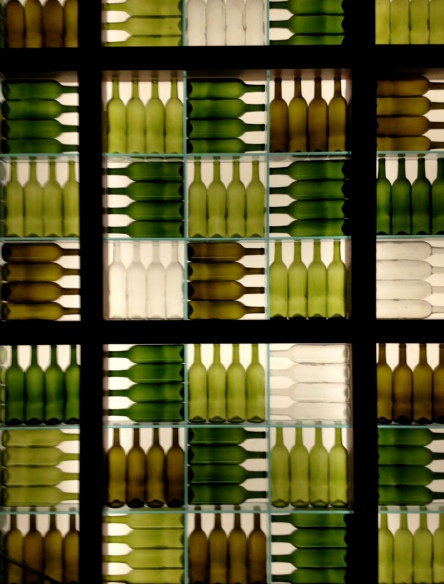 Mosaico de garrafas - decor impecável