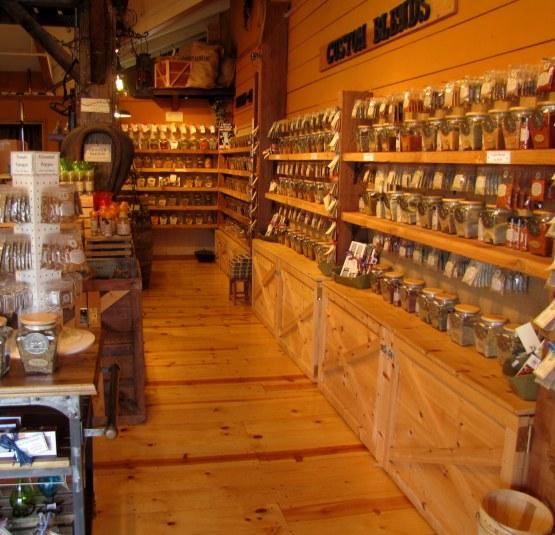 Spice Tea - interior loja