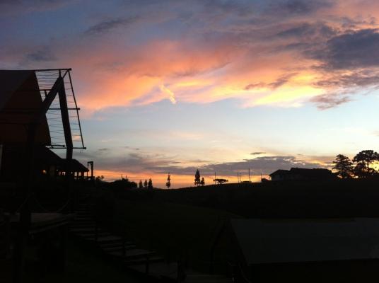 parador casa montanha - por do sol 1