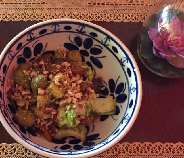 salada caprese tashi ling