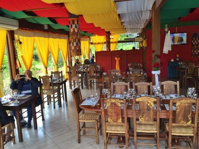 interior restaurante tashi ling